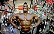 Femi Billyrose WBFF Pro 3D Muscle at Muscleworks Gym (Featured) 1