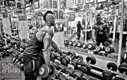 Femi Billyrose WBFF Pro 3D Muscle at Muscleworks Gym (Featured) 11