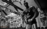 Femi Billyrose WBFF Pro 3D Muscle at Muscleworks Gym (Featured) 14