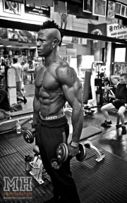 Femi Billyrose WBFF Pro 3D Muscle at Muscleworks Gym (Featured) 25