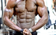 Femi Billyrose WBFF Pro 3D Muscle at Muscleworks Gym (Featured) 28
