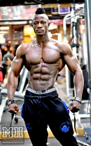 Femi Billyrose WBFF Pro 3D Muscle at Muscleworks Gym (Featured) 30