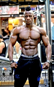 Femi Billyrose WBFF Pro 3D Muscle at Muscleworks Gym (Featured) 32