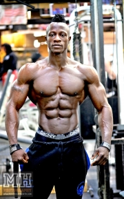 Femi Billyrose WBFF Pro 3D Muscle at Muscleworks Gym (Featured) 33