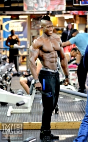 Femi Billyrose WBFF Pro 3D Muscle at Muscleworks Gym (Featured) 35