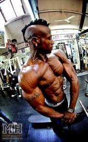 Femi Billyrose WBFF Pro 3D Muscle at Muscleworks Gym (Featured) 47