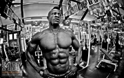Femi Billyrose WBFF Pro 3D Muscle at Muscleworks Gym (Featured) 7