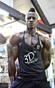 Femi Billyrose WBFF Pro 3D Muscle at Muscleworks Gym (Featured) 70