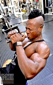 Femi Billyrose WBFF Pro 3D Muscle at Muscleworks Gym (Featured) 80