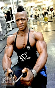 Femi Billyrose WBFF Pro 3D Muscle at Muscleworks Gym (Featured) 87